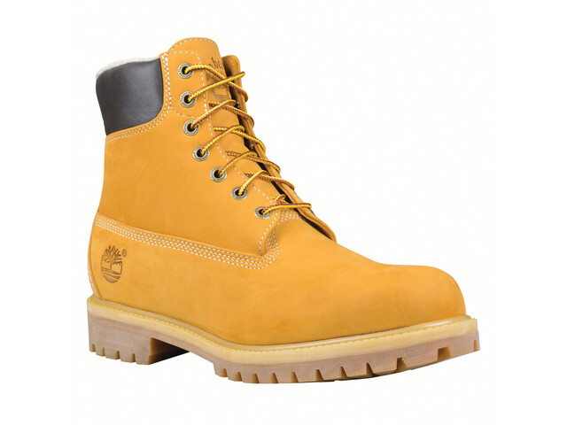 "Timberland Heritag Warm Lined Boots 6"" Men, wheat nubuck"